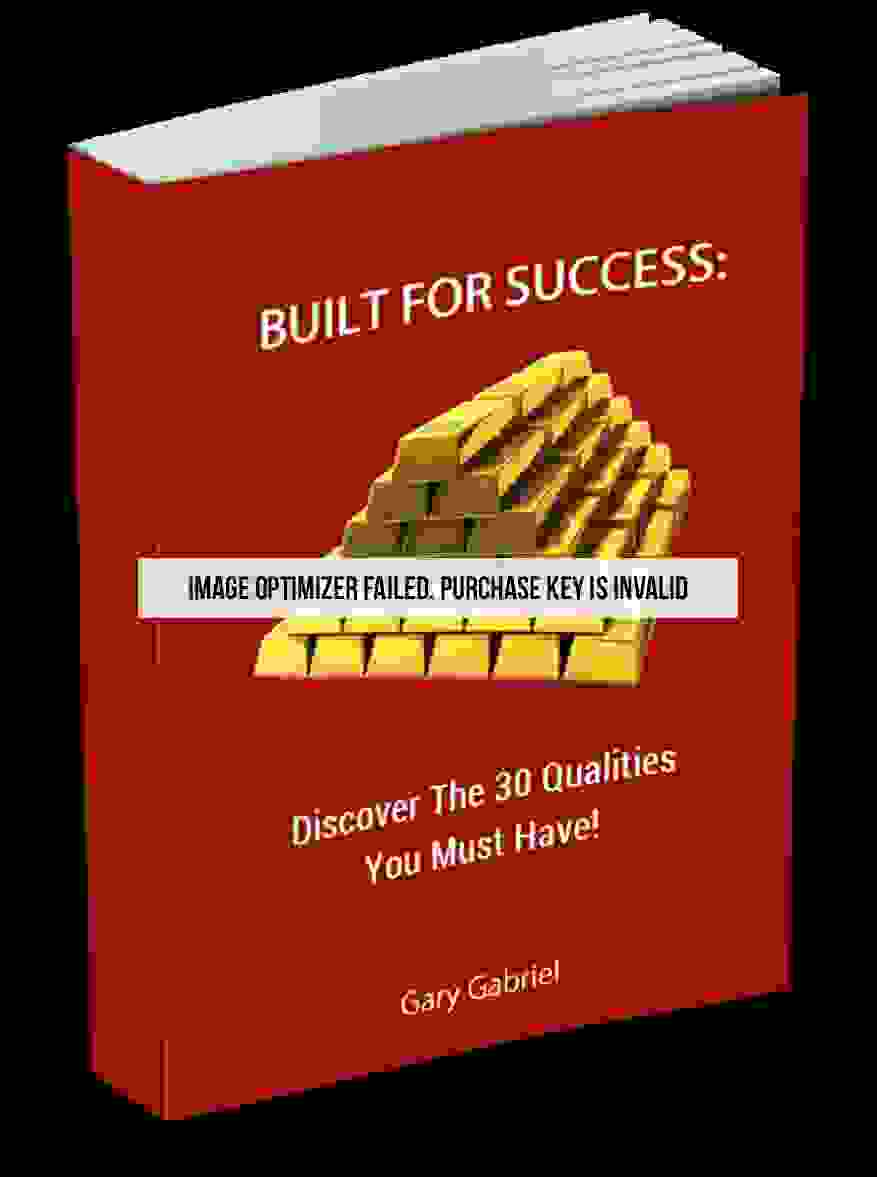 Book Image Built For Success Discover The 30 Qualities You Must Have